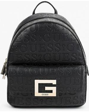 Рюкзак черный городской Guess
