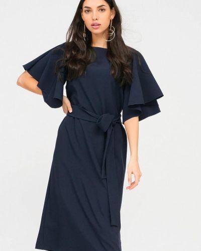 Повседневное синее платье Lussotico