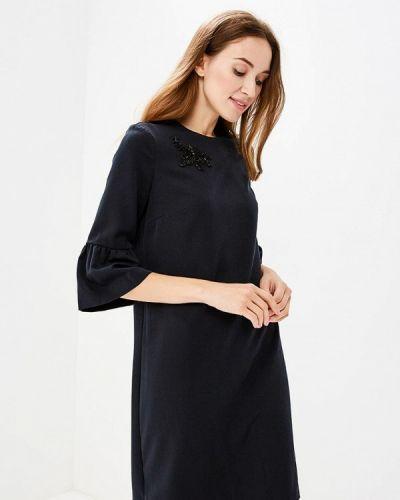 Черное платье прямое Zarina