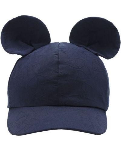 Brezentowy kapelusz na gumce z aplikacjami Monnalisa