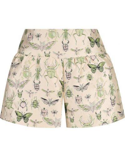Короткие шорты винтажные с поясом с карманами Redvalentino