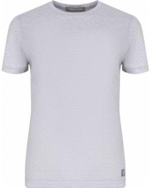Хлопковая футболка - серая Capobianco