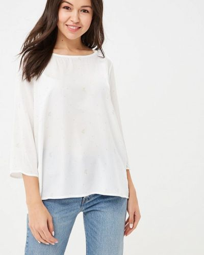 Блузка с длинным рукавом белая весенний Top Secret