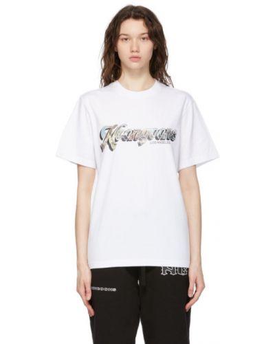 Biały t-shirt bawełniany krótki rękaw Noon Goons