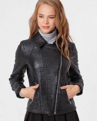 Кожаная куртка черная осенняя Lmp