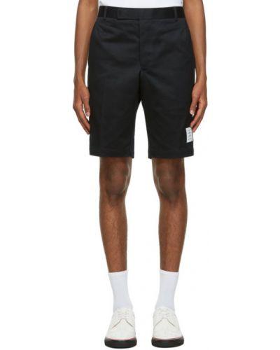 Хлопковые шорты-чиносы с карманами с заплатками Thom Browne