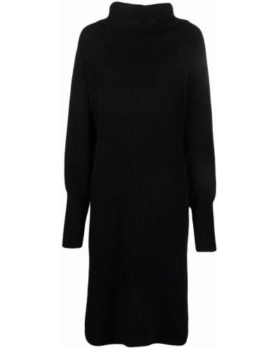 Трикотажное платье - черное Nude