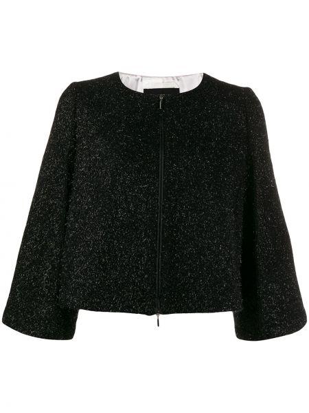 Куртка черная на молнии Emporio Armani