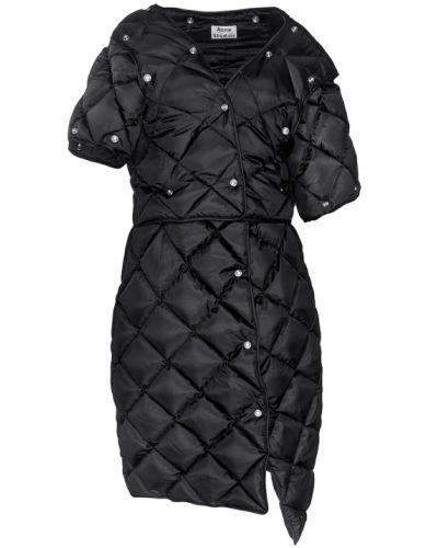 Стеганое пальто укороченное пальто Acne Studios