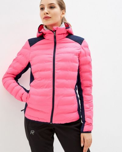 Утепленная розовая куртка Rukka