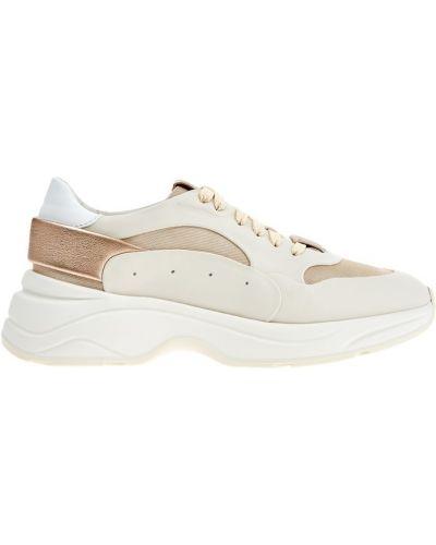 Кроссовки белый с логотипом Santoni