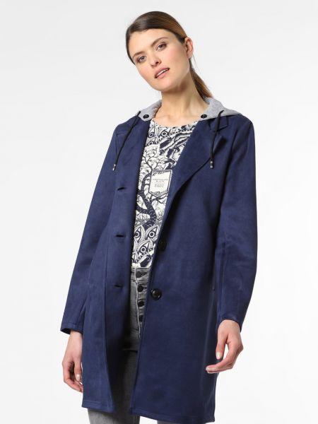 Niebieski płaszcz Amber & June
