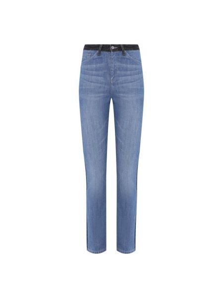 Хлопковые синие джинсы Ag