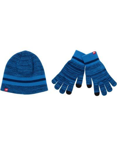 Rękawiczki akryl zestaw New Balance