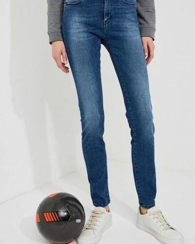 Синие джинсы-скинни Love Moschino