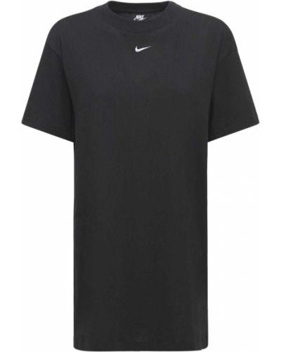 Черное платье Nike