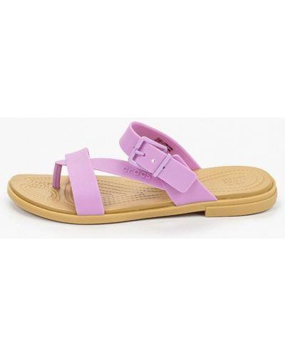 Сланцы - фиолетовые Crocs