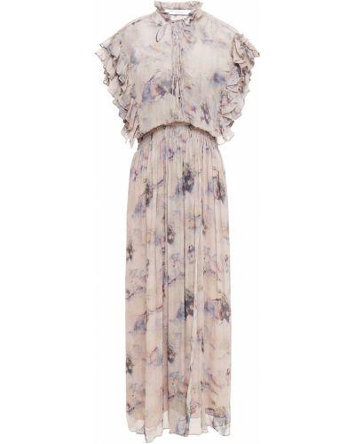 Кружевное платье миди Iro