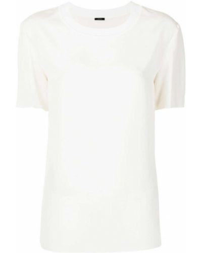 Белая блузка с воротником Joseph