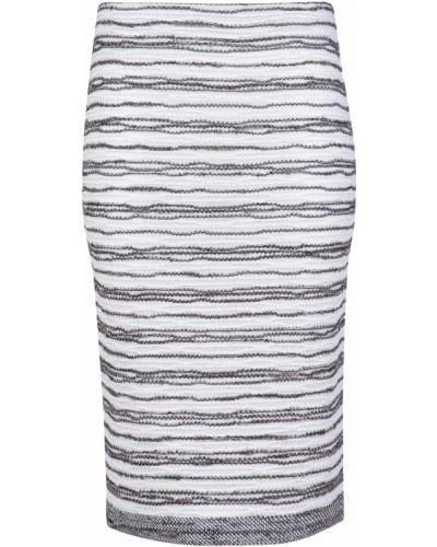 Хлопковая юбка - белая D.exterior