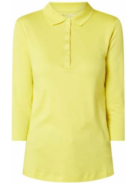 T-shirt bawełniana - żółta Christian Berg Women