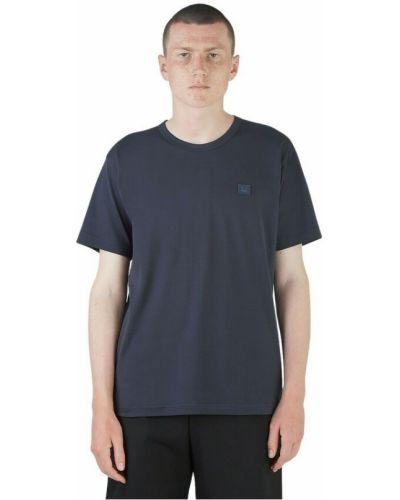 T-shirt - niebieska Acne Studios