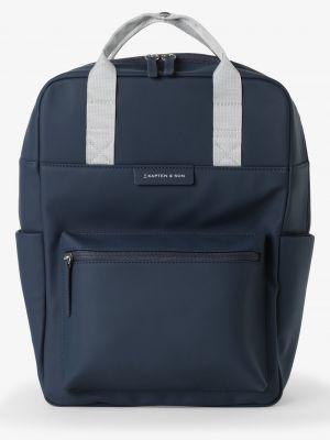 Niebieski plecak Kapten & Son