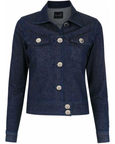 Прямая синяя джинсовая куртка Olympiah