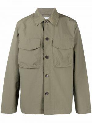 Рубашка с длинным рукавом - зеленая Wood Wood