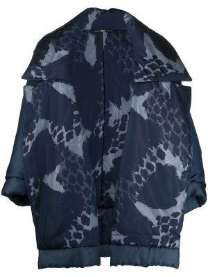 Синяя длинная куртка свободного кроя с длинными рукавами Gianfranco Ferre Pre-owned