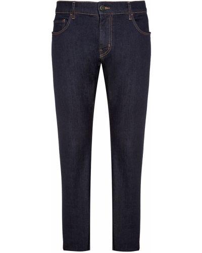 Прямые джинсы стрейч с карманами Prada
