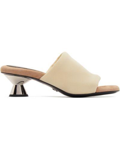 Czarne złote sandały Proenza Schouler