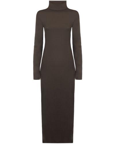 Sukienka - brązowa Lemaire