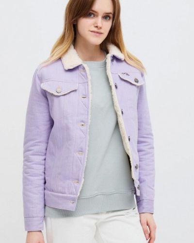 Фиолетовая джинсовая куртка Dasti