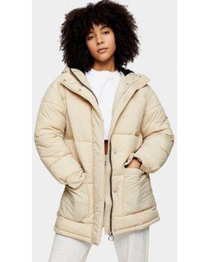 Зимняя куртка утепленная осенняя Topshop