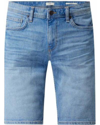 Niebieskie szorty jeansowe bawełniane Edc By Esprit