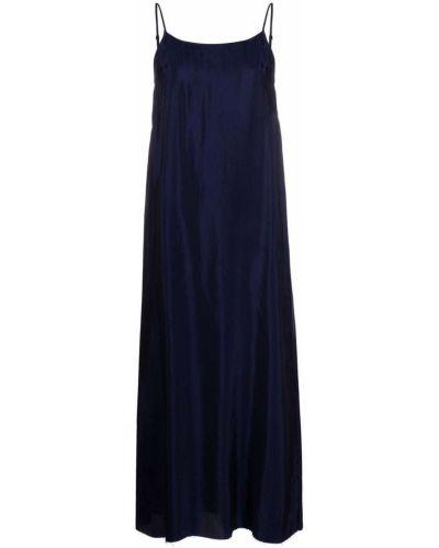 Синее платье без рукавов Uma Wang