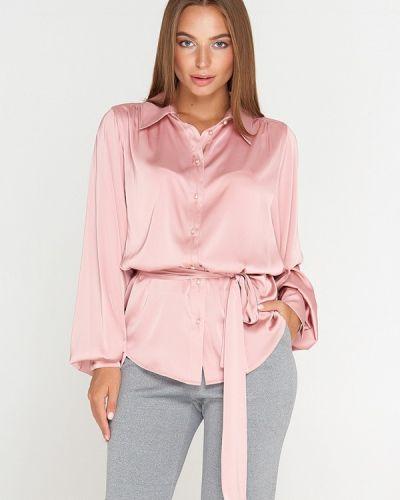 Розовая блузка Sellin