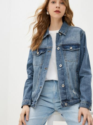 Синяя джинсовая куртка Zolla