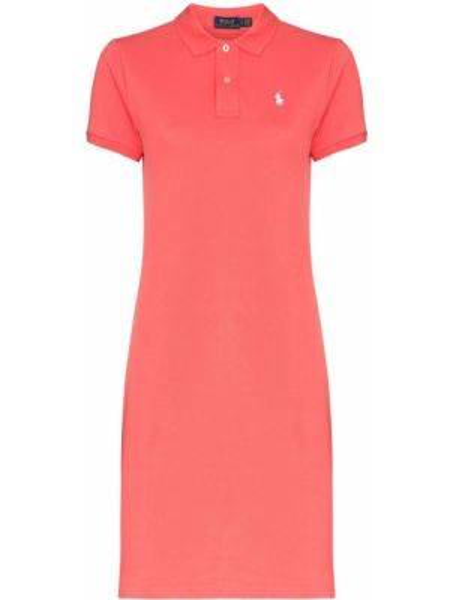 Спортивное теннисное платье с вышивкой с воротником Polo Ralph Lauren