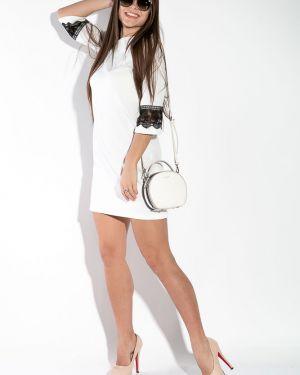 Повседневное платье ажурное с поясом Time Of Style