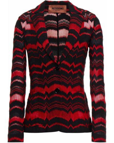 Пиджак с накладными карманами с заплатками из вискозы Missoni