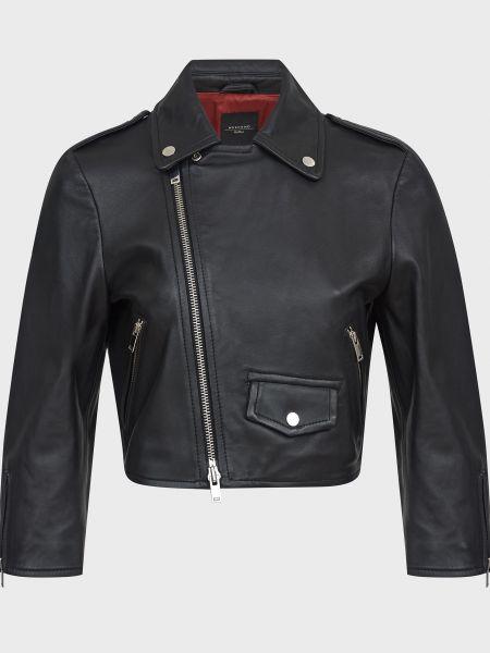 Черная куртка на молнии Weekend Max Mara
