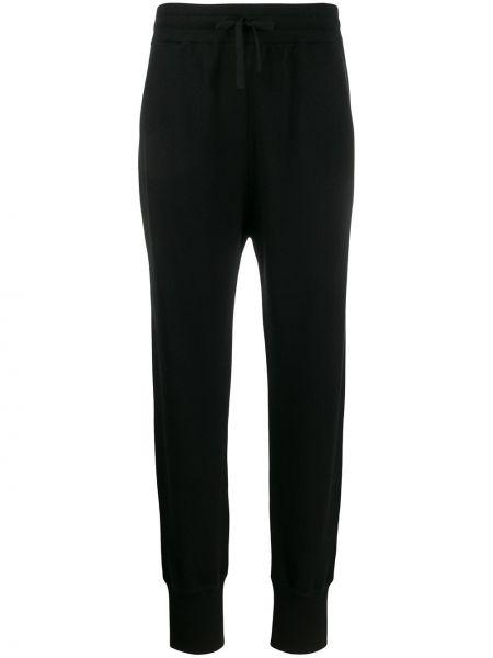 Спортивные брюки в рубчик с манжетами Jil Sander