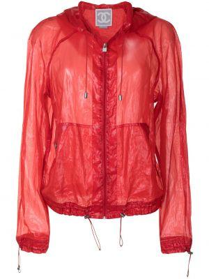 Красная куртка с рукавом реглан Chanel Pre-owned