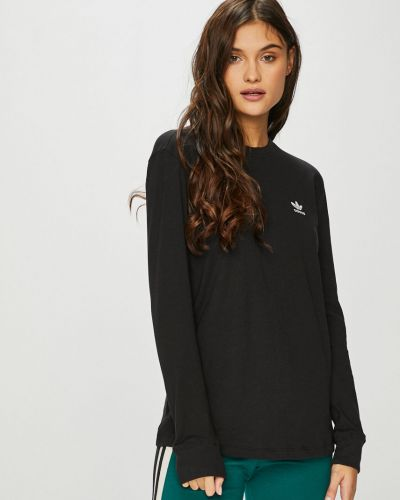 Блузка прямая с вырезом Adidas Originals