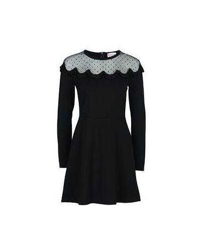 Коктейльное платье черное Valentino Red