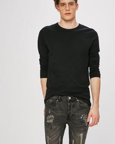 Черная футболка однотонная Brave Soul