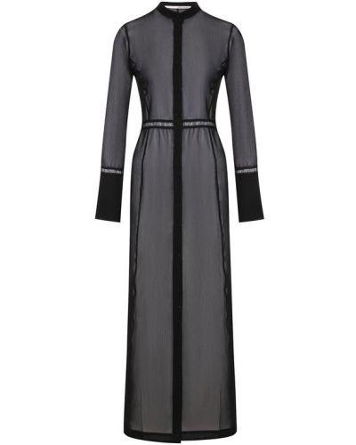 Джинсовое платье платье-рубашка со вставками Isabel Benenato