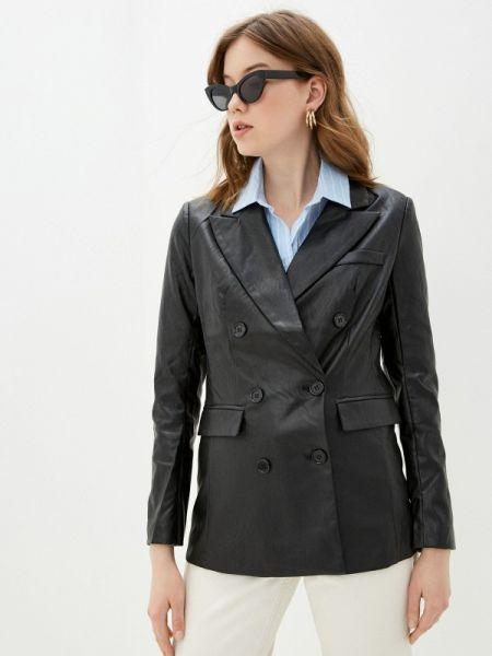 Кожаная куртка черная весенняя You&you